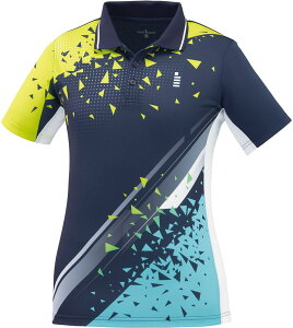 GOSEN(ゴーセン) LADIES' ゲームシャツ レディース テニス・バドミントン ネイビー
