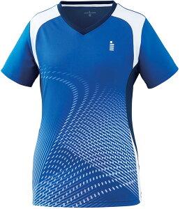 GOSEN(ゴーセン) LADIES' ゲームシャツ レディース テニス・バドミントン ロイヤルブルー