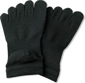 DANSKIN WACLOTH FIVE FINGER SOCKS ブラック