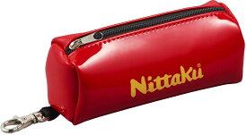 ニッタク(Nittaku) 卓球バッグ・ケース ENA BALL CASE エナボールケース レッド