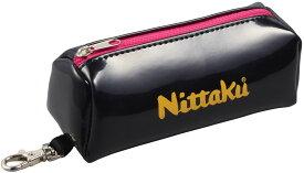 ニッタク(Nittaku) 卓球バッグ・ケース ENA BALL CASE エナボールケース ブラック