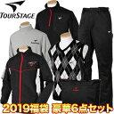 BRIDGESTONE TOURSTAGE(ブリヂストンツアーステージ) 日本正規品 2019新春 「メンズウエア」 豪華6点セットゴルフ福袋…