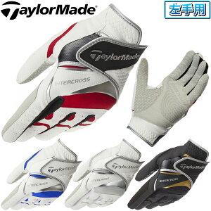 TaylorMade(テーラーメイド)日本正規品 INTERCROSS 4.0 GLOVE(インタークロス 4.0 グローブ) 左手用ゴルフグローブ 2020新製品 「CCN46」 【あす楽対応】