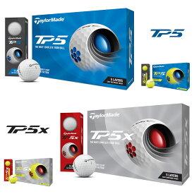 TaylorMade(テーラーメイド)日本正規品 TP5シリーズ 2021新製品 ゴルフボール1ダース(12個入) 【あす楽対応】