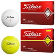 Titleist(タイトリスト)日本正規品TRUFEEL(トゥルーフィール)ゴルフボール2019新製品1ダース(12個入り)【あす楽対応】