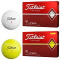Titleist(タイトリスト)日本正規品TRUFEEL(トゥルーフィール)ゴルフボール2019モデル1ダース(12個入り)【あす楽対応】