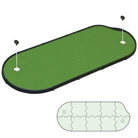 TourLinks(ツアーリンクス)日本正規品 4×10PAR SAVER PUTTING GREEN(パーソナルパッティンググリーンパーセーバー) 全天候型パッティング練習組み立て式マット 「PG-10-PM-1(Z-127)」