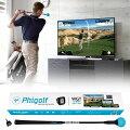 Phigolf(ファイゴルフ)日本正規品WGTEditionスイングトレーナー付きゴルフゲームシミュレーション「PHG-100」【あす楽対応】