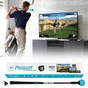Phigolf(ファイゴルフ)日本正規品 WGT Edition スイングトレーナー付きゴルフゲームシミュレーション 「PHG-100」 【…