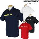 BridgestoneGolf ブリヂストンゴルフウエア 春夏ウエア 半袖ボタンダウンシャツ 3GJ03A 【あす楽対応】