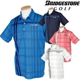 BridgestoneGolf ブリヂストンゴルフウエア TOUR B 春夏ウエア 半袖シャツ 「3GN04A」 【あす楽対応】