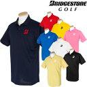 BridgestoneGolf ブリヂストンゴルフ 春夏ウエア 半袖ポロシャツ 55G01A 【あす楽対応】