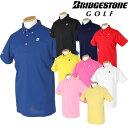 BridgestoneGolf ブリヂストンゴルフ 春夏ウエア ボタンダウン半袖ポロシャツ 55G02A【あす楽対応】