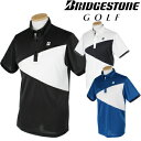 BridgestoneGolf ブリヂストンゴルフウエア 春夏ウエア 半袖ボタンダウンシャツ JGM07A 【あす楽対応】