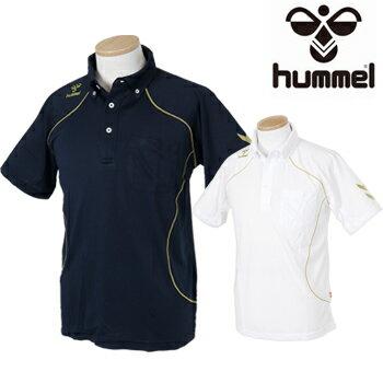 ヒュンメル(hummel)サッカー半袖ポロシャツHAP3035【あす楽対応】