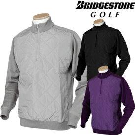 BridgestoneGolf ブリヂストンゴルフ TOUR B 2019秋冬モデルウエア 長袖ハーフジップセーター QGM03B 【あす楽対応】