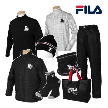 【予約】FILA(フィラ)日本正規品2018新春「メンズウエア」豪華8点セットゴルフ福袋