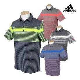 adidas Golf アディダスゴルフ 春夏ウエア ULTIMATE365マルチストライプS/Sシャツ 「GLB33」 【あす楽対応】
