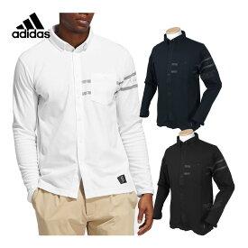 adidas Golf アディダスゴルフ 2020秋冬モデルウエア ADICROSS長袖ボタンダウンシャツ 「IUB35」 【あす楽対応】