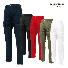 BridgestoneGolf ブリヂストンゴルフ2020秋冬モデルウエア 裏起毛ストレートアドレスドパンツ 「6GS01K」 【あす楽対応】
