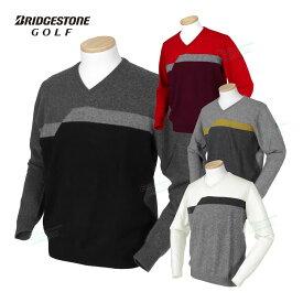 BridgestoneGolf ブリヂストンゴルフ秋冬ウエア Vネックカシミヤセーター 「KGM06B」 【あす楽対応】