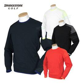 BridgestoneGolf ブリヂストンゴルフ TOUR B 2020秋冬モデルウエア 長袖クルーネックセーター 「SGM04B」 【あす楽対応】