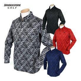 BridgestoneGolf ブリヂストンゴルフ TOUR B 秋冬ウエア +3℃PROJECT 長袖ボタンダウンシャツ 「SGM31F」 【あす楽対応】