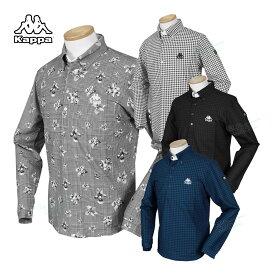 KAPPA GOLF カッパゴルフ 2020秋冬モデルウエア 長袖ボタンダウンシャツ 「KGA52LS01」 ビッグサイズ 【あす楽対応】