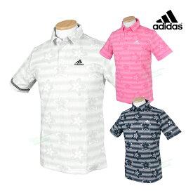 adidas Golf アディダスゴルフ 2021春夏モデルウエア フラワープリント 半袖シャツ 「23088」 ビッグサイズ 【あす楽対応】