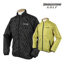 BridgestoneGolf ブリヂストンゴルフ 秋冬ウエア +3℃ ITEMフルジップブルゾン 「QGM02D」 【あす楽対応】