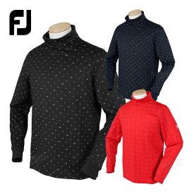 FOOTJOY フットジョイ 秋冬ウエア LS Xプリント蓄熱タートルネックシャツ 「FJ-F20-S16」 【あす楽対応】