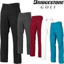 BridgestoneGolf ブリヂストンゴルフ TOUR B 秋冬ウエア ストレートロングパンツ KGM01K 【あす楽対応】