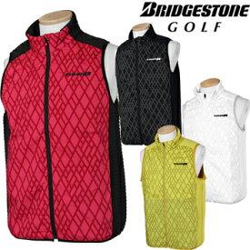 BridgestoneGolf ブリヂストンゴルフ TOUR B 秋冬ウエア 前開きベスト QGM01C 【あす楽対応】