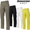 BridgestoneGolf ブリヂストンゴルフ TOUR B 秋冬ウエア ストレートパンツ QGM01K 【あす楽対応】