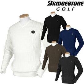 BridgestoneGolf ブリヂストンゴルフ TOUR B 秋冬ウエア 長袖Vネックセーター QGM04B 【あす楽対応】