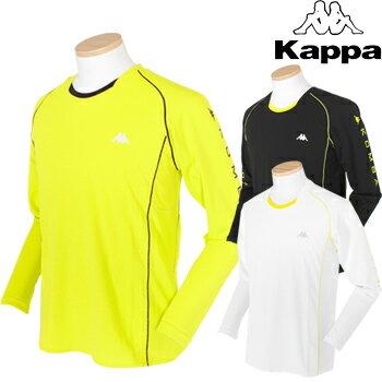 KAPPA RUNNING(カッパランニング)吸汗速乾+UVカット+クーリングロングスリーブシャツKR612TL32【あす楽対応】