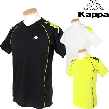 KAPPA RUNNING(カッパランニング)吸汗速乾+UVカットショートスリーブシャツKR612TS33【あす楽対応】