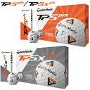 2020年モデル日本正規品テーラーメイドTP5 Pix TP5X Pixゴルフボール1ダース12個入り「TaylorMade TP5 ピックス TP5X …
