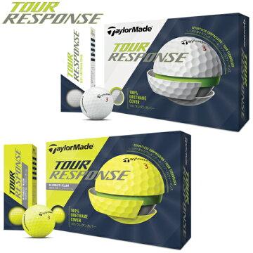 2020年モデル日本正規品テーラーメイドツアーレスポンスゴルフボール1ダース12個入り「TaylorMadeTOURRESPONSE」【あす楽対応】