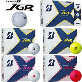2021年日本正規品ブリヂストンゴルフツアービー ジェイジーアールゴルフボール1ダース(12個入り)「BRIDGESTONE GOLF TOUR B JGR」【あす楽対応】
