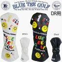 ブルーティーゴルフスマイル&ピンボールカリフォルニア ヘッドカバードライバー用「BLUE TEE GOLF SMILE&PINBALL Ca…