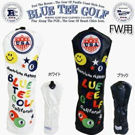 ブルーティーゴルフスマイル&ピンボールカリフォルニア ヘッドカバーフェアエイウッド用「BLUE TEE GOLF SMILE&PINBALL California」【ネコポス2個まで対応】【あす楽対応】