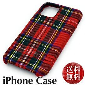 【送料無料】 レッド チェック柄 iPhone ケース 格子柄 クリスマスカラー 赤 緑 iphone 11 11pro xr xsmax 7 8 se2 X 7plus 8plus xs アイフォン 11 8 7 xr 布地 あいふぉん けーす ストライプ 綿 軽い 軽量 レディース