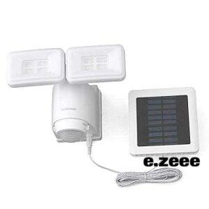 アイリスオーヤマ(IRIS OHYAMA) ソーラー式LED防犯センサーライト ソーラー式LED防犯センサーライト LSL-SBTN-800 パールホワイト
