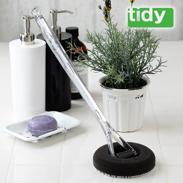 【よりどり送料無料】 ティディ バススポンジ tidy BathSponge お風呂 スポンジ CL-666-310-0 お風呂洗い お風呂掃除 風呂 ブラシ バス用スポンジ おしゃれ テラモト