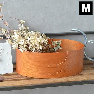 シェーカーボックス シェーカー オーバルボックスM 木製 アクシス 収納ボックス おしゃれ シンプル かわいい 北欧 キッチン雑貨 メイクボックス 花器 お茶セット アンティーク カフェ ベー