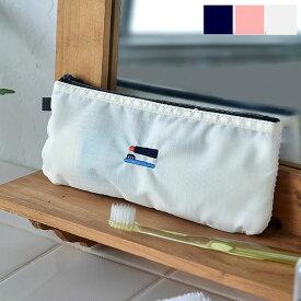 ポーチ 歯ブラシポーチ 2NUL 2NUL 洗面ポーチ 歯ブラシケース 旅行 トラベルポーチ かわいい お泊り 持ち運び メッシュ 薄い 出張 TOOTHBRUSH POUCH シンプル トラベル用品 ポケット付き