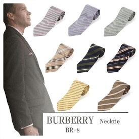 【BR8】【送料無料】【未使用品】【倒産処分品】【新古品】BURBERRY バーバリー ネクタイメンズ 【中古】