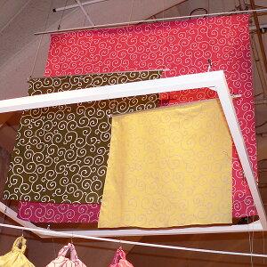 京唐草綿ふろしき(68cm、90cm、150cm)の3サイズのイメージ