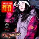 【最終セール価格!】スノーボード ウェア レディース 上下セット スノーボードウェア 【SECRETGARDEN PLAYMORE (プレ…